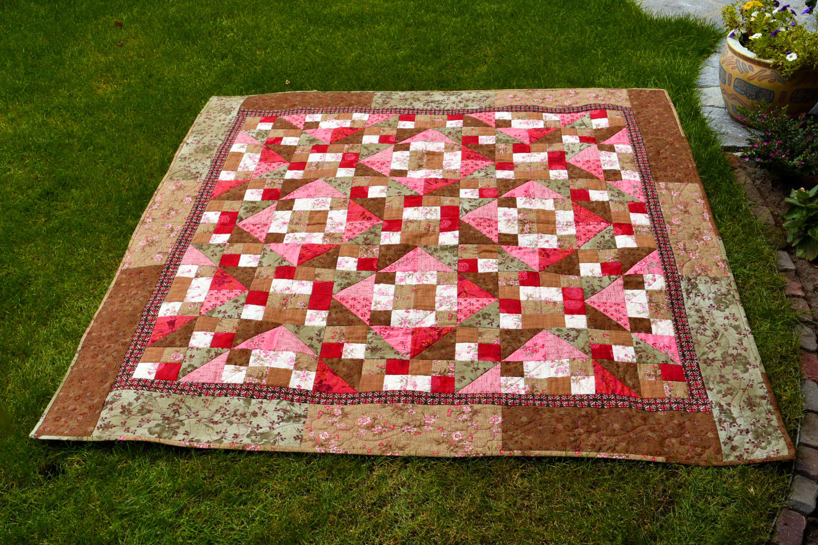 Workshop 'Tickled Pink' Quilt